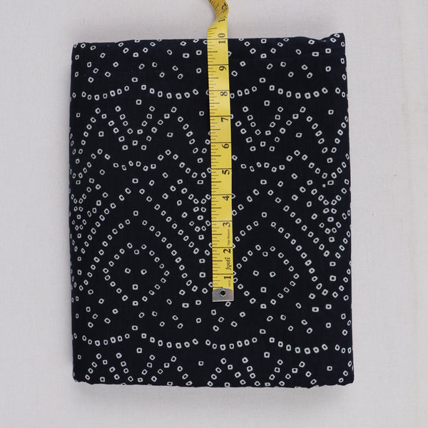 Black Color Bandhani print MK65