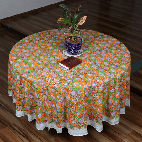 Hand Block Print Table Covers MK01
