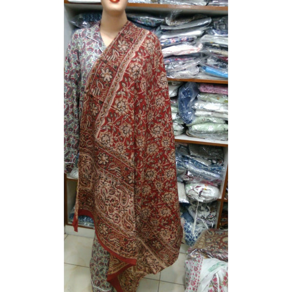 100% Cotton Hand Block Print Dupatta