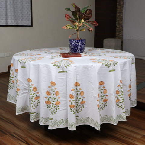 Dining block print Table Covers BG02