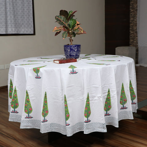 Cotton block print Table Covers BG02
