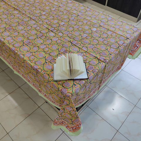 Disposable  block print Table Covers BG02