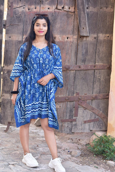 Copy of Moroccan Pure Cotton Block Print Caftan By BG