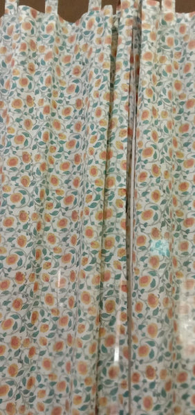 Bedroom Pure Cotton Curtains in Hand Block Print002BG