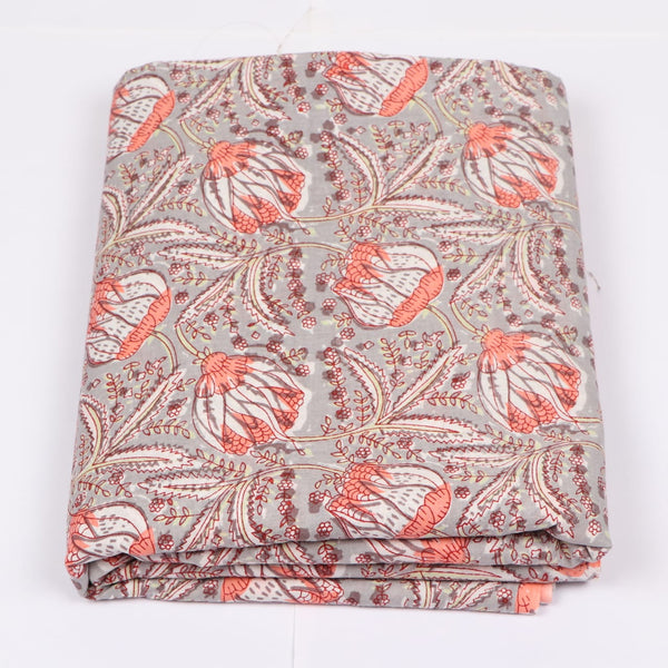 Indian Cotton Fabric in Hand Block Print Garments Fabric002BG