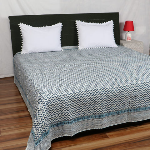 Frida Kantha Bed Cover in Kantha Quilt