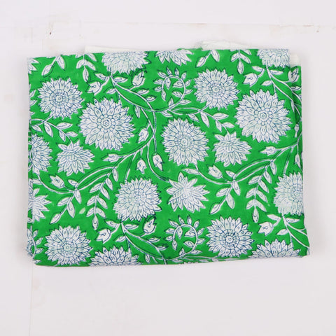 High Quality Cotton Hand Block Print  Garments Fabric002BG