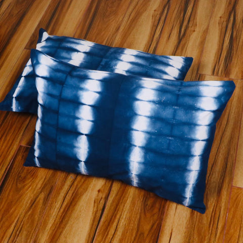Different Pattern Tie Dye Pillow Cover in Pure Cotton Fabric