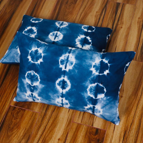 Waterproof Pattern Tie Dye Pillow Cover in Pure Cotton Fabric