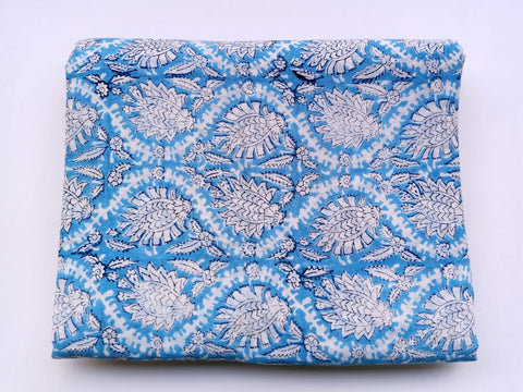Pure Cotton in Hand Block Print Garments Fabric002BG