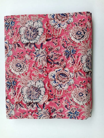 Copy of Ghad Pattern Cotton in Hand Block Print Garments Fabric002BG