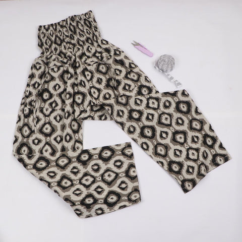 Animal Pattern Trousers in Hand Block Print