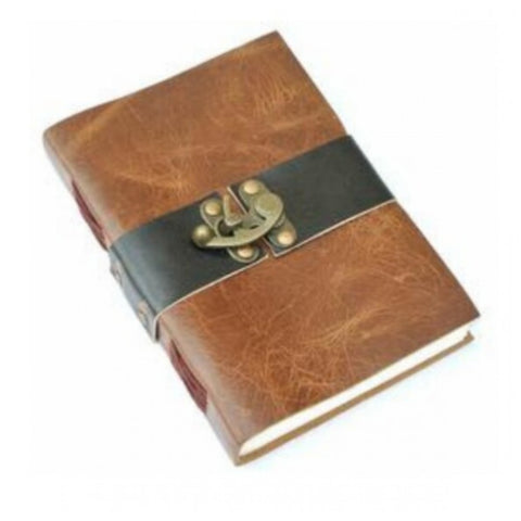 Hand Made Leather Note Book & Diary