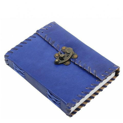 Hand Made Leather Blue Note Book