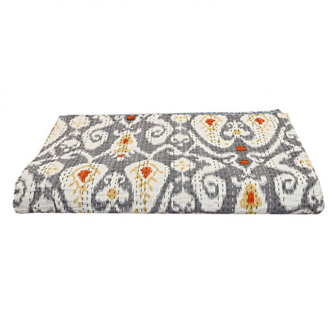 Kantha Bed Cover Kantha Cotton Bed Cover