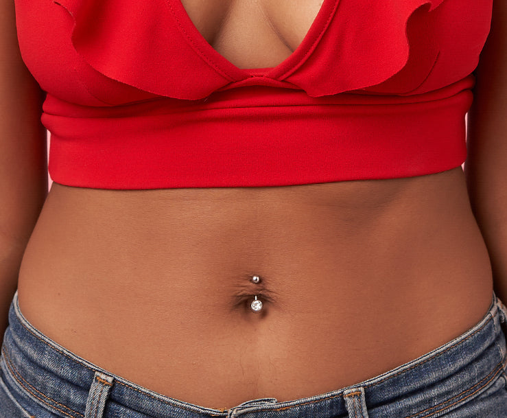 Belly Button Navel Piercing