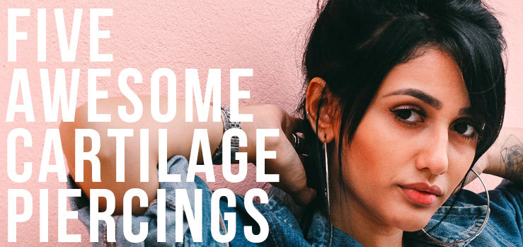 5 Awesome Cartilage Piercings