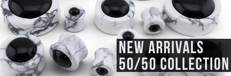 50/50 Stone Plugs Collection 2017