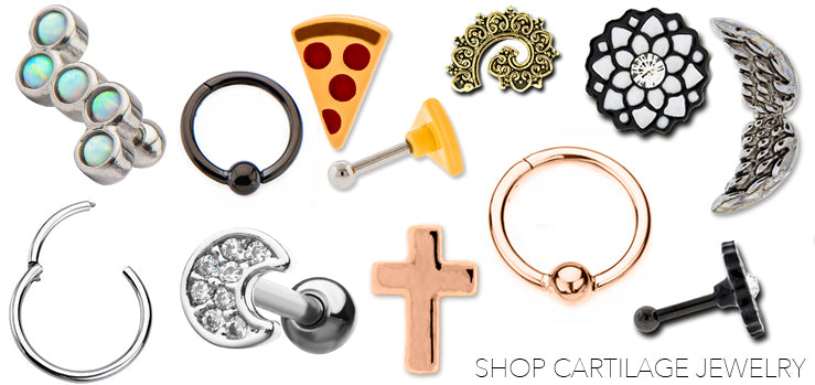 Cartilage Piercing Jewelry
