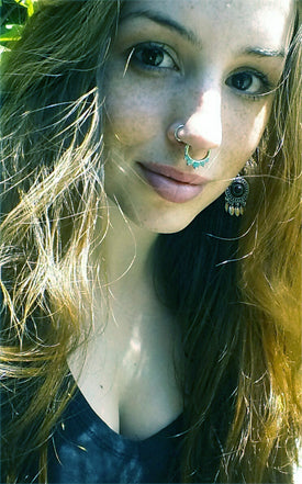 Girl With Nose Pierced