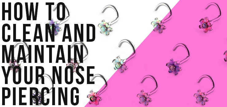 Cleaning Your Nose Ring