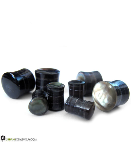 Mother of pearl plugs
