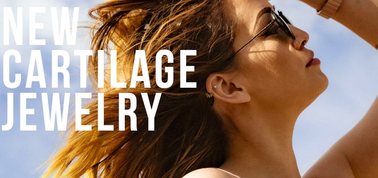 New Summer Cartilage Piercing Jewelry