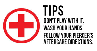 Piercing Aftercare Tips