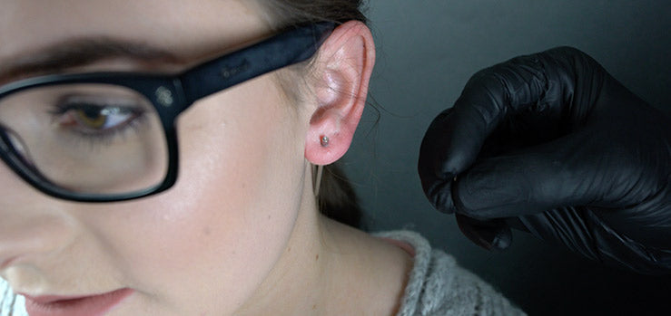 Ear Stretching with Tapers