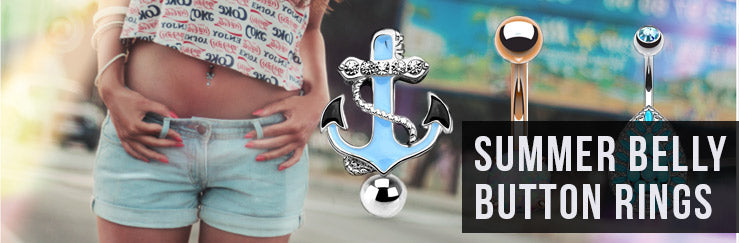 Summer Belly Button Rings