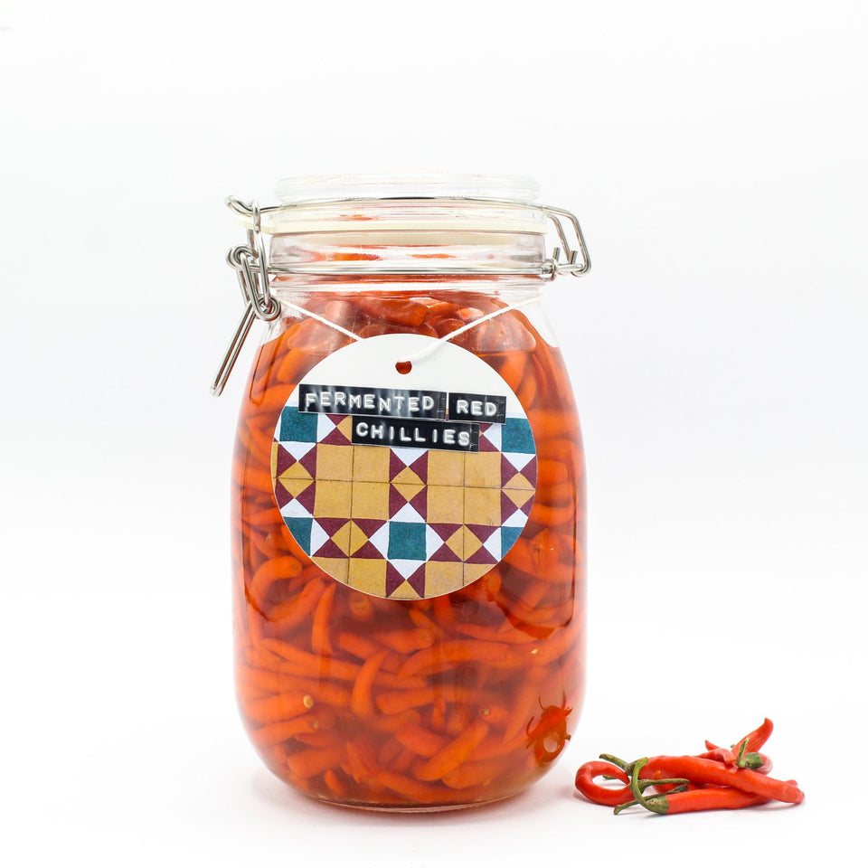 The one with many avatars - Fermented Red Chillies