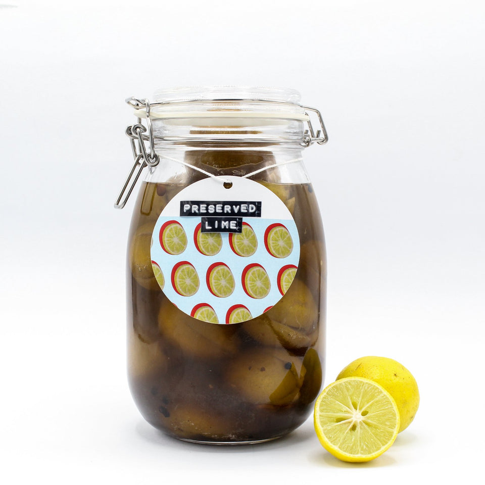 Lime Pickle - with a twist!