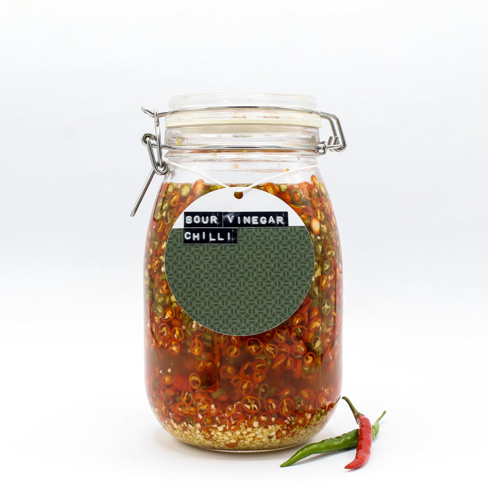 Sour, Spice & all things nice! - Sour Chilli Vinegar