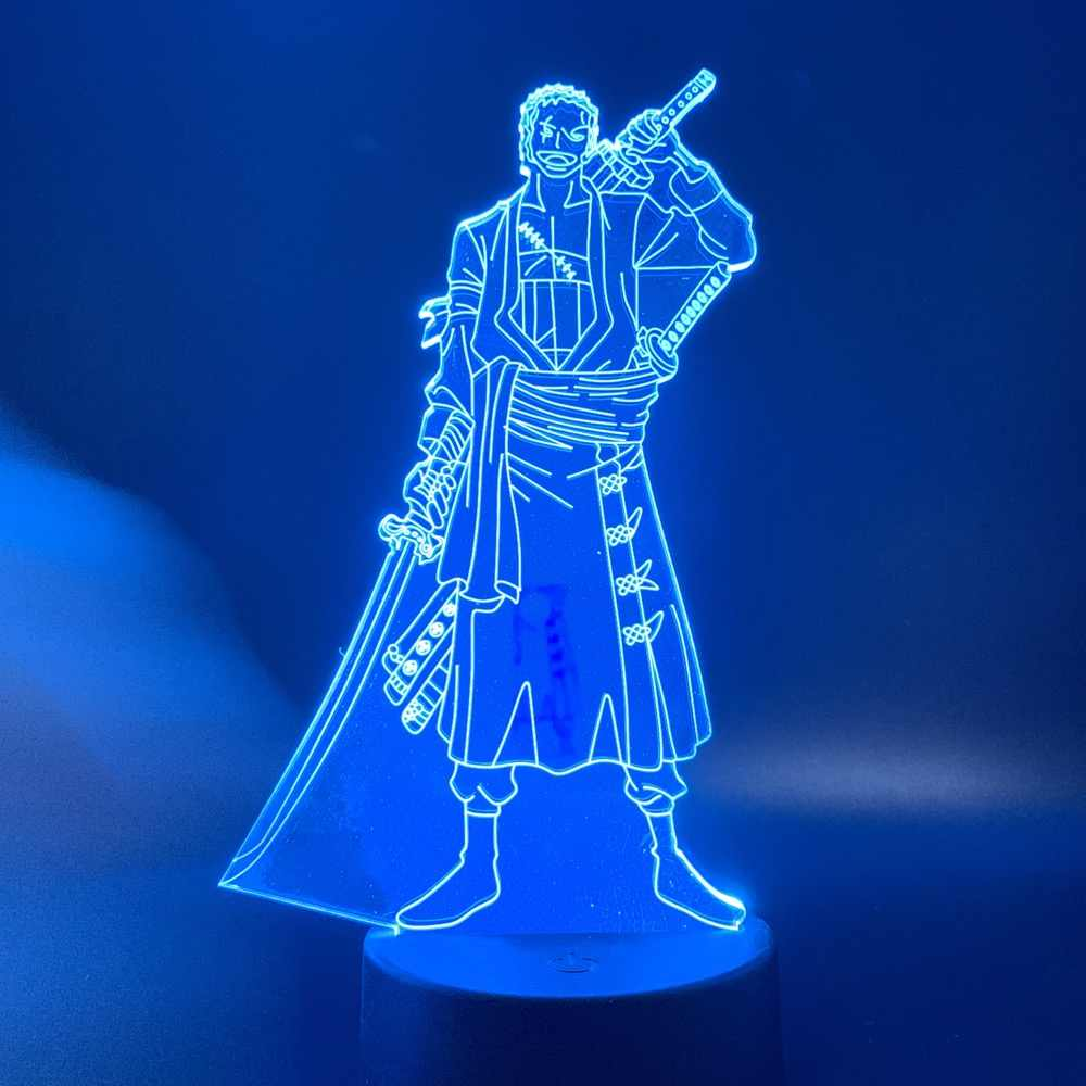 ZORO LED ANIME LAMP (ONE PIECE)