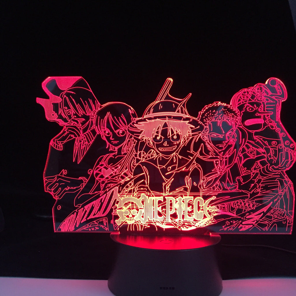 MUGIWARA LED ANIME LAMP (ONE PIECE)