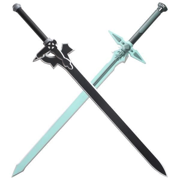 SWORD ART ONLINE (SAO) - PACK KIRITO - Replica 2 Swords: Elucidator, Dark Repulser