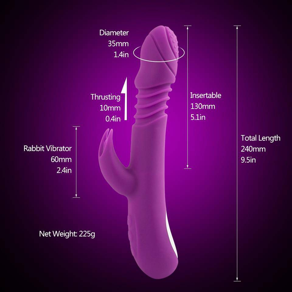 Heated Av Vibrators Sex Toys For Woman - Pleasures Shop