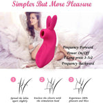 Rabbit G-spot Clitoral Sucking Vibrator for clit nipple stimulation - Pleasures Shop