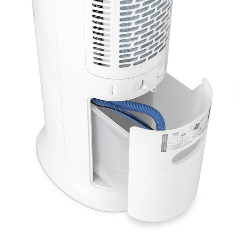 Frigidaire 2-in-1 Evaporative Air Cooler and Tower Fan, 300 CFM with Portable Design and 3 Fan Speeds