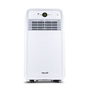 NewAir Compact Portable Air Conditioner, 8,000 BTUs (4,500 BTU, DOE), Cools 200 sq. ft., Easy Setup Window Venting Kit and Remote Control