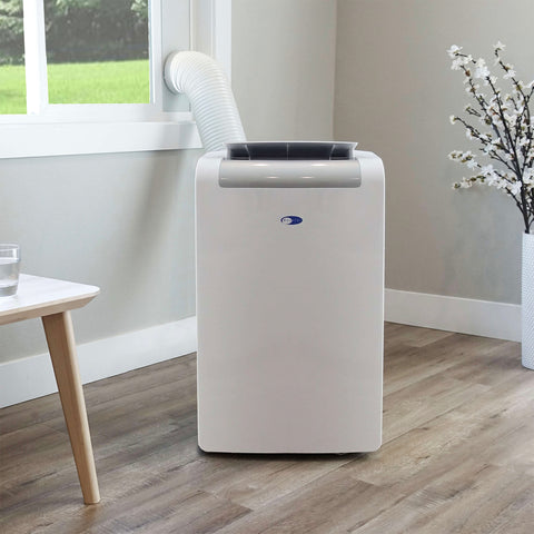 WHYNTER 14,000 BTU PORTABLE AIR CONDITIONER AND HEATER WITH 3M SILVERSHIELD FILTER PLUS AUTOPUMP