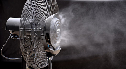 "Image of Luma Comfort 26"" Oscillating Misting Fan"