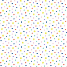 Load image into Gallery viewer, White Polka Dots Child Mask