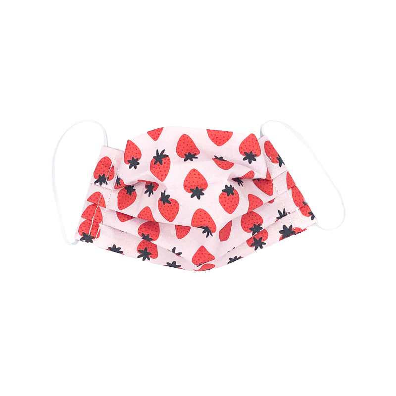 Big Strawberry Toddler Mask
