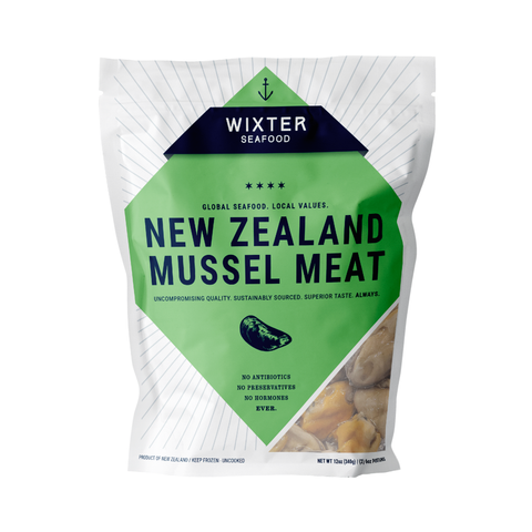 Wixter Seafood New Zealand Mussel Meat