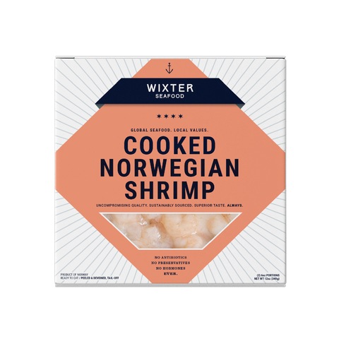 Cooked Norwegian Shrimp