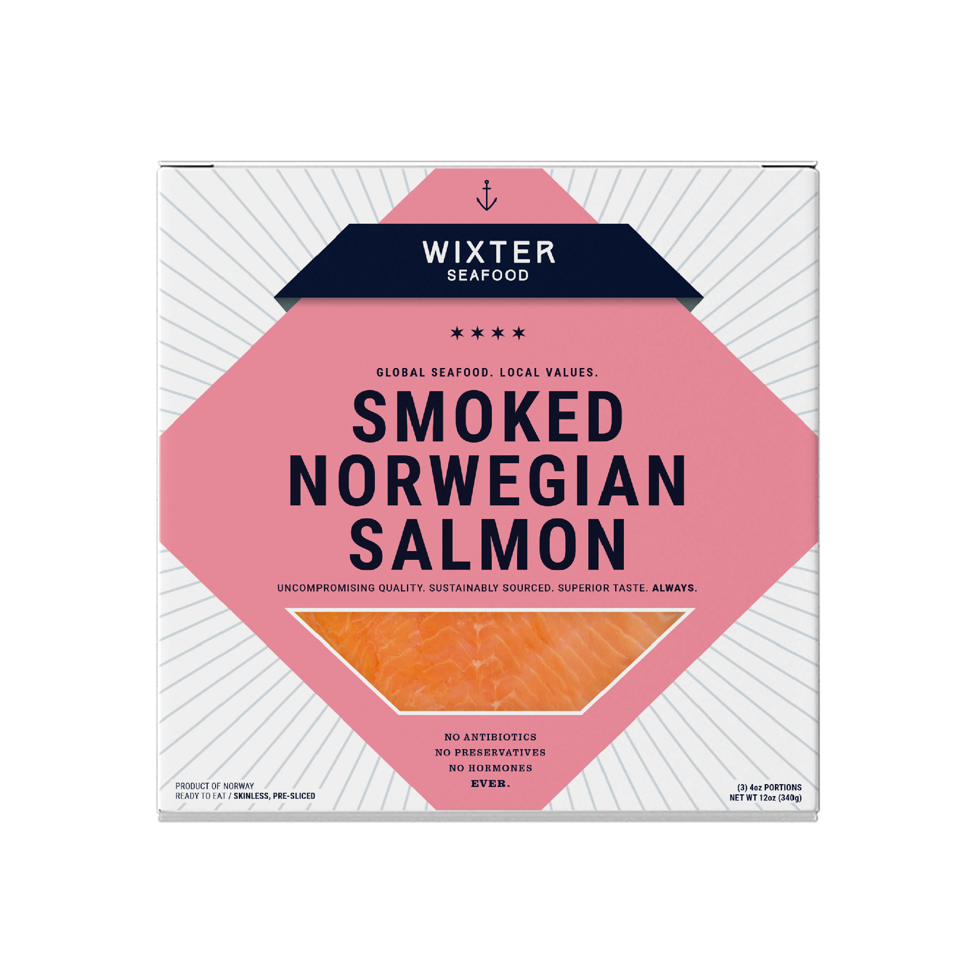 Smoked Norwegian Salmon