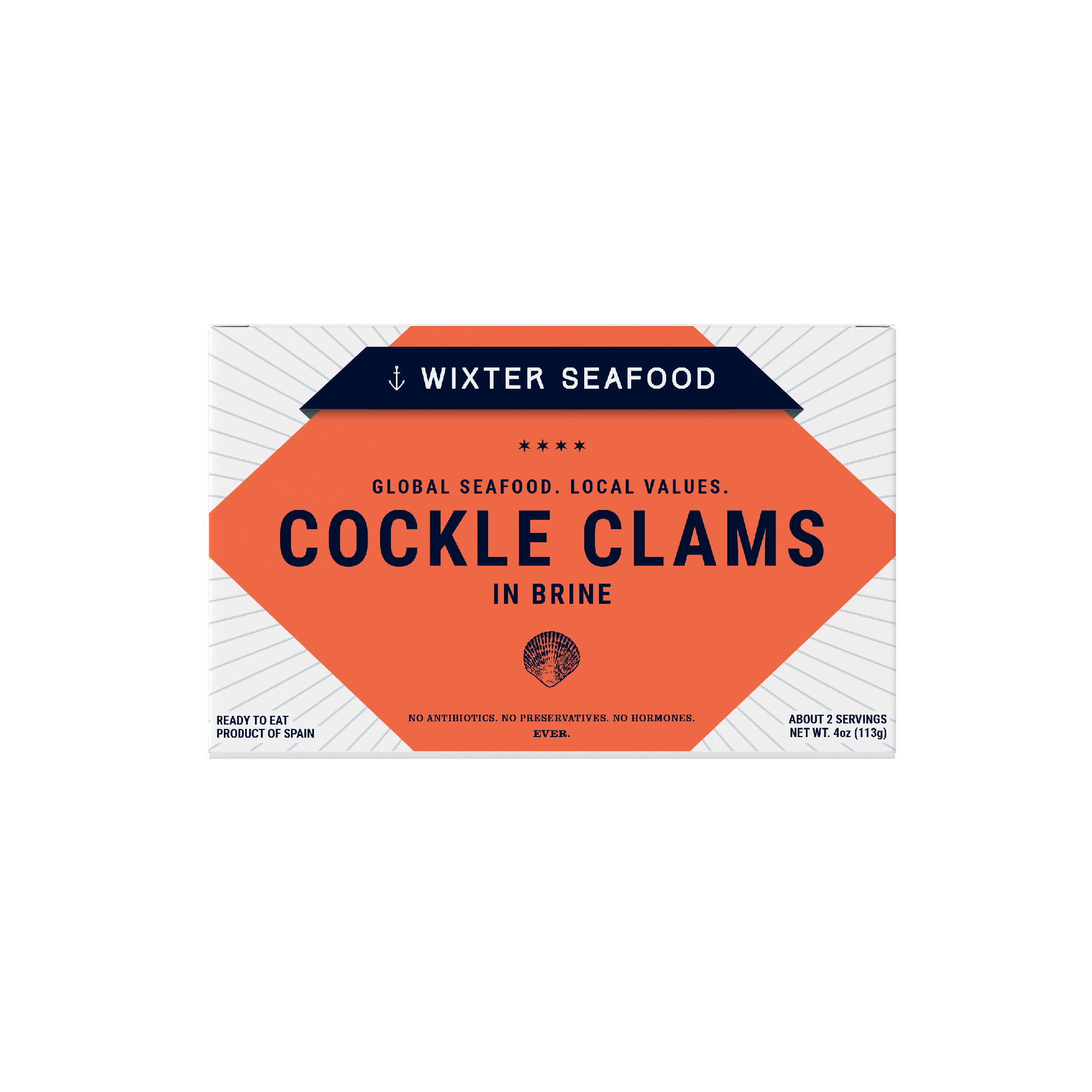 Cockle Clams in Brine