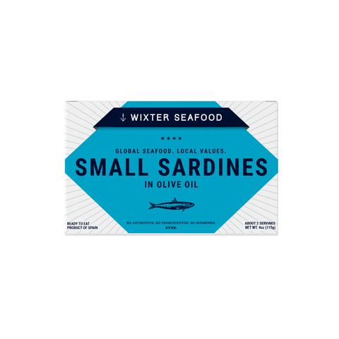 Wixter Seafood Small Sardines in Olive Oil