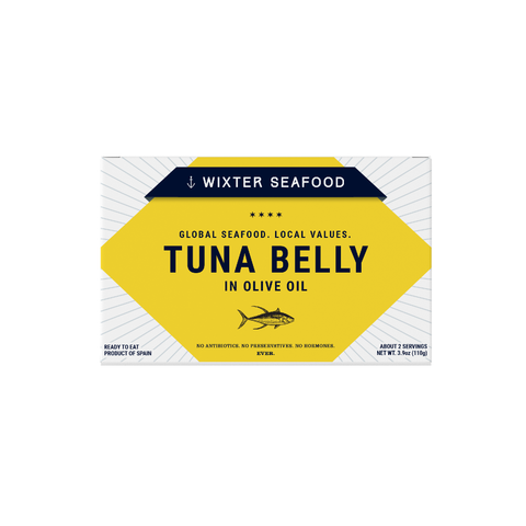 Wixter Seafood Tuna Belly in Olive Oil
